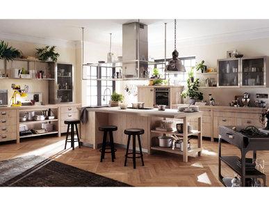 Итальянская кухня Diesel Social Kitchen 02 фабрики SCAVOLINI