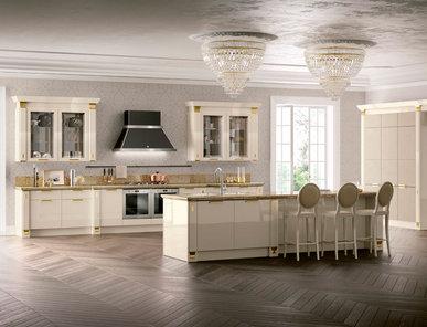 Итальянская кухня Exclusiva 03 фабрики SCAVOLINI