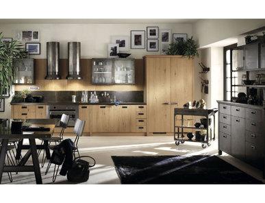 Итальянская кухня Diesel Social Kitchen 07 фабрики SCAVOLINI