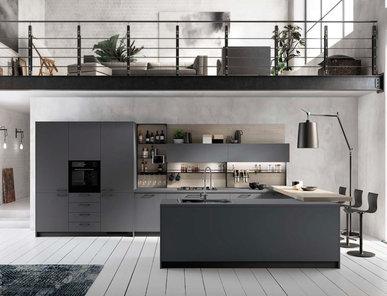 Итальянская кухня Mood 02 фабрики SCAVOLINI