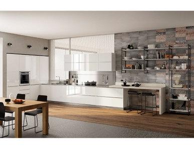 Итальянская кухня Mood 05 фабрики SCAVOLINI