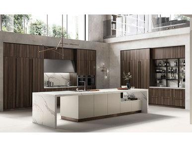 Итальянская кухня Mood 07 фабрики SCAVOLINI