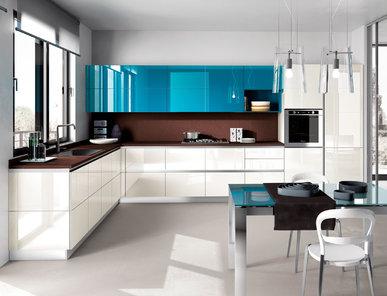 Итальянская кухня Tetrix 11 фабрики SCAVOLINI