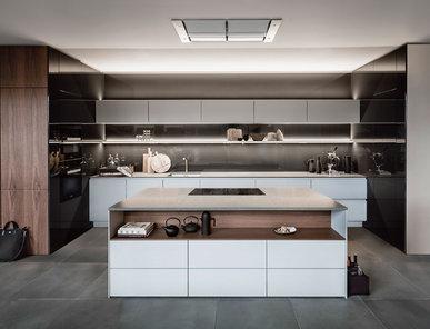 Кухня S2 + SE 01 фабрики SieMatic