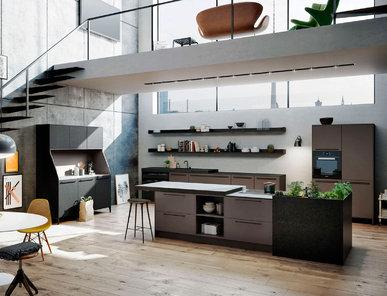 Кухня SE 8008 LM + SE 4004 E фабрики SieMatic