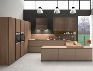 Итальянская кухня G30 04 фабрики Tre.O Kitchens