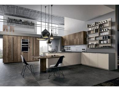 Итальянская кухня B22 07 фабрики Tre.O Kitchens