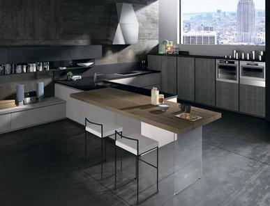Итальянская кухня R20 05 фабрики Tre.O Kitchens