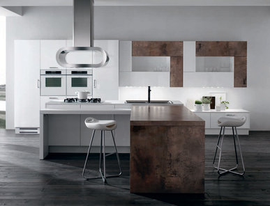 Итальянская кухня ELOS 06 фабрики Tre.O Kitchens