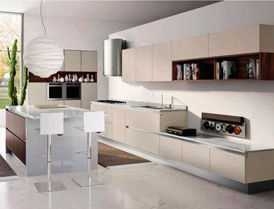 Итальянская кухня THAI 04 фабрики Tre.O Kitchens