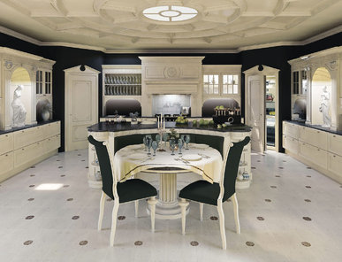 Итальянская кухня Mood black&white фабрики TURATI & C
