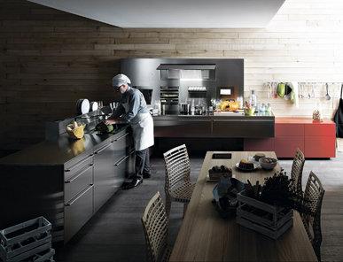 Итальянская кухня Artematica inox фабрики VALCUCINE