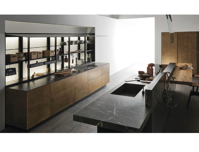 Итальянская кухня Artematica Ottone Anticato фабрики VALCUCINE