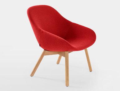 Кресло Beso 4-legged, wood фабрики ARTIFORT