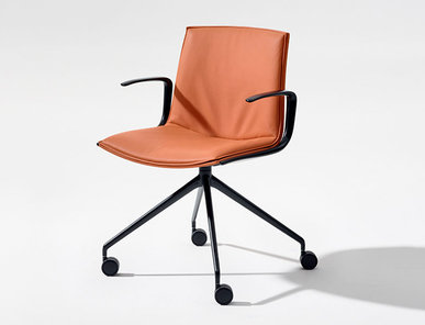 Итальянский стул Catifa Up Trestle fixed фабрики ARPER