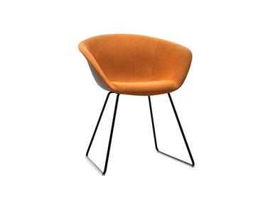 Итальянский стул Duna 02 Sled фабрики ARPER