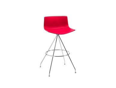 Итальянский барный стул Catifa 46 Trestle фабрики ARPER