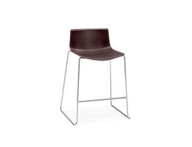 Итальянский барный стул Catifa 46 Sled 88cm фабрики ARPER