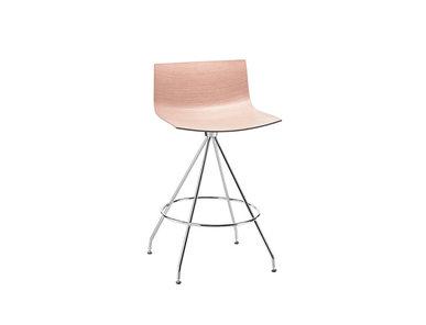 Итальянский барный стул Catifa 46 Trestle 90cm фабрики ARPER