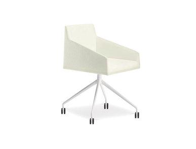 Итальянский стул с подлокотниками Saari AC Trestle fixed фабрики ARPER