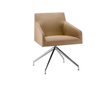 Итальянский стул с подлокотниками Saari AC Trestle swivel фабрики ARPER