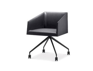 Итальянский стул с подлокотниками Saari TR Trestle fixed фабрики ARPER