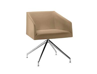 Итальянский стул с подлокотниками Saari TR Trestle swivel фабрики ARPER