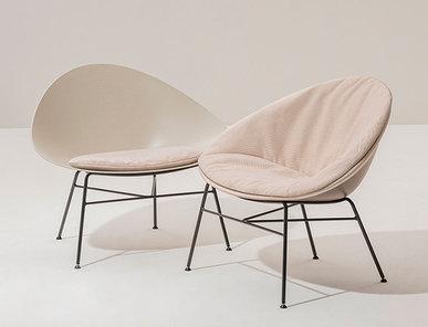 Итальянское кресло Adell 4 legs фабрики ARPER