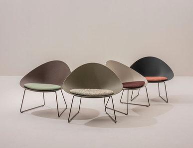 Итальянское кресло Adell Sled фабрики ARPER