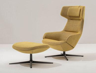 Итальянское кресло Aston Club 4 ways фабрики ARPER