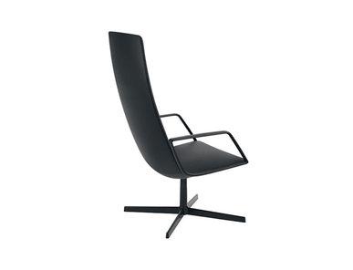 Итальянское кресло Catifa Sensit Lounge 4 ways, high backrest фабрики ARPER