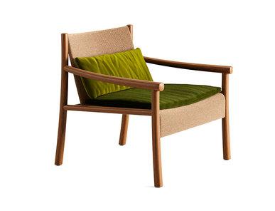 Итальянское кресло Kata 4 wood legs фабрики ARPER