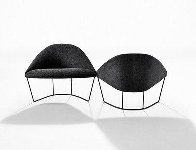 Итальянское кресло Colina M Sled фабрики ARPER