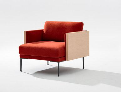 Итальянское кресло Steeve фабрики ARPER