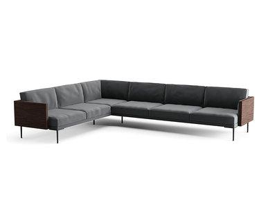 Итальянский модульный диван Steeve фабрики ARPER