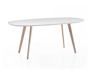 Итальянский овальный стол Gher фабрики ARPER