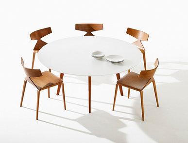 Итальянский круглый стол Gher фабрики ARPER