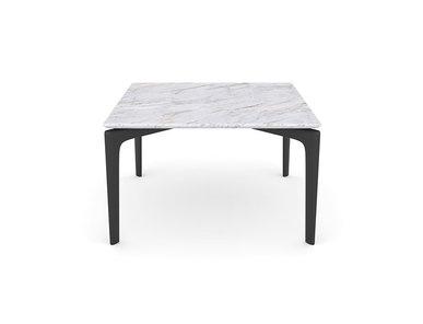 Итальянский квадратный журнальный столик Saul фабрики ARPER
