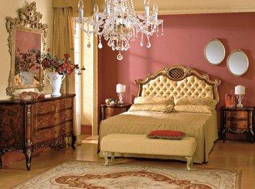 Итальянская спальня Settecento фабрики Antico Borgo