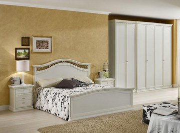 Итальянская спальня Ambra Bianco фабрики Dalcin