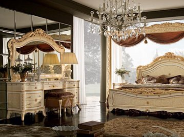 Итальянская спальня Alysee Laccoto Oro фабрики Bacci Stile