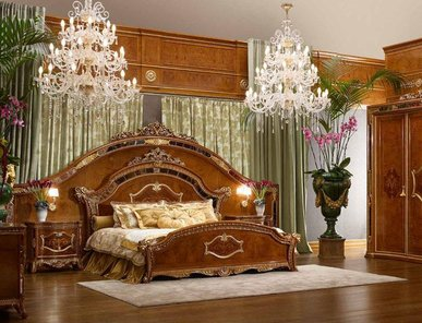 Итальянская спальня Premiere фабрики Bacci Stile