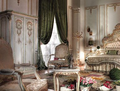 Итальянские спальни Gold фабрики Asnaghi Interiors