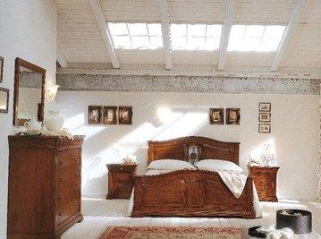 Итальянские спальни Antico Borgo фабрики BAMAR