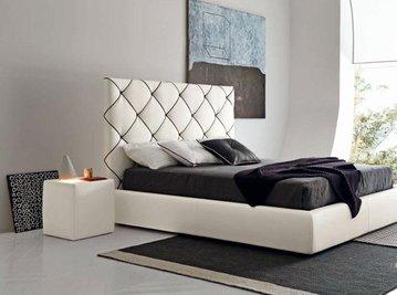 Итальянские кровати VOLUME 2 NERO фабрики BOLZAN