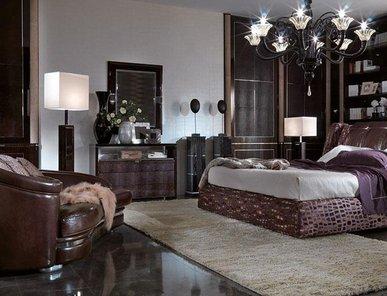 Итальянские спальни Genesis Leather фабрики TURRI