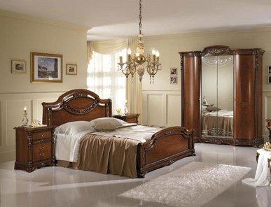 Итальянская спальня Regina Noce фабрики Mobil Piu
