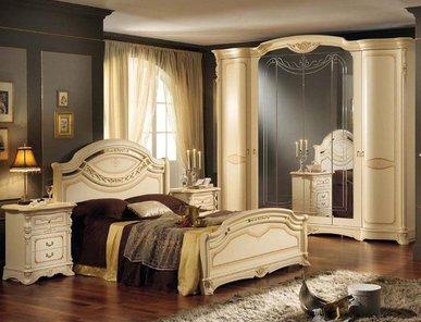 Итальянская спальня Regina Beige фабрики Mobil Piu