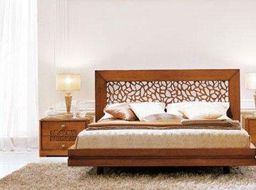 Итальянская двуспальная кровать Lago di Garda фабрики Serenissima