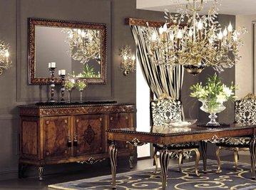 Итальянская гостиная Neoclassico Gold фабрики Antico Borgo